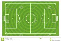 Green Football Field Template Stock Illustration  Illustration Of intended for Blank Football Field Template