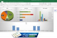 Guide To Excel Project Management  Projectmanager with Project Status Report Template In Excel