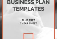 Gym Business Plan Essentials  Fitness Center Template  Sample Pdf in Business Plan Template For Gym