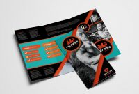 Gym  Fitness Trifold Brochure Template In Psd Ai  Vector regarding Membership Brochure Template