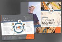 Half Fold Brochure Template For Builders Association Order Custom in Half Page Brochure Template