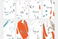 Hand Drawn Creative Tags Universal Shopping Sales Advertising pertaining to Universal Label Templates