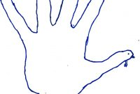Hand Turkey Drawing Template At Paintingvalley  Explore with regard to Blank Turkey Template