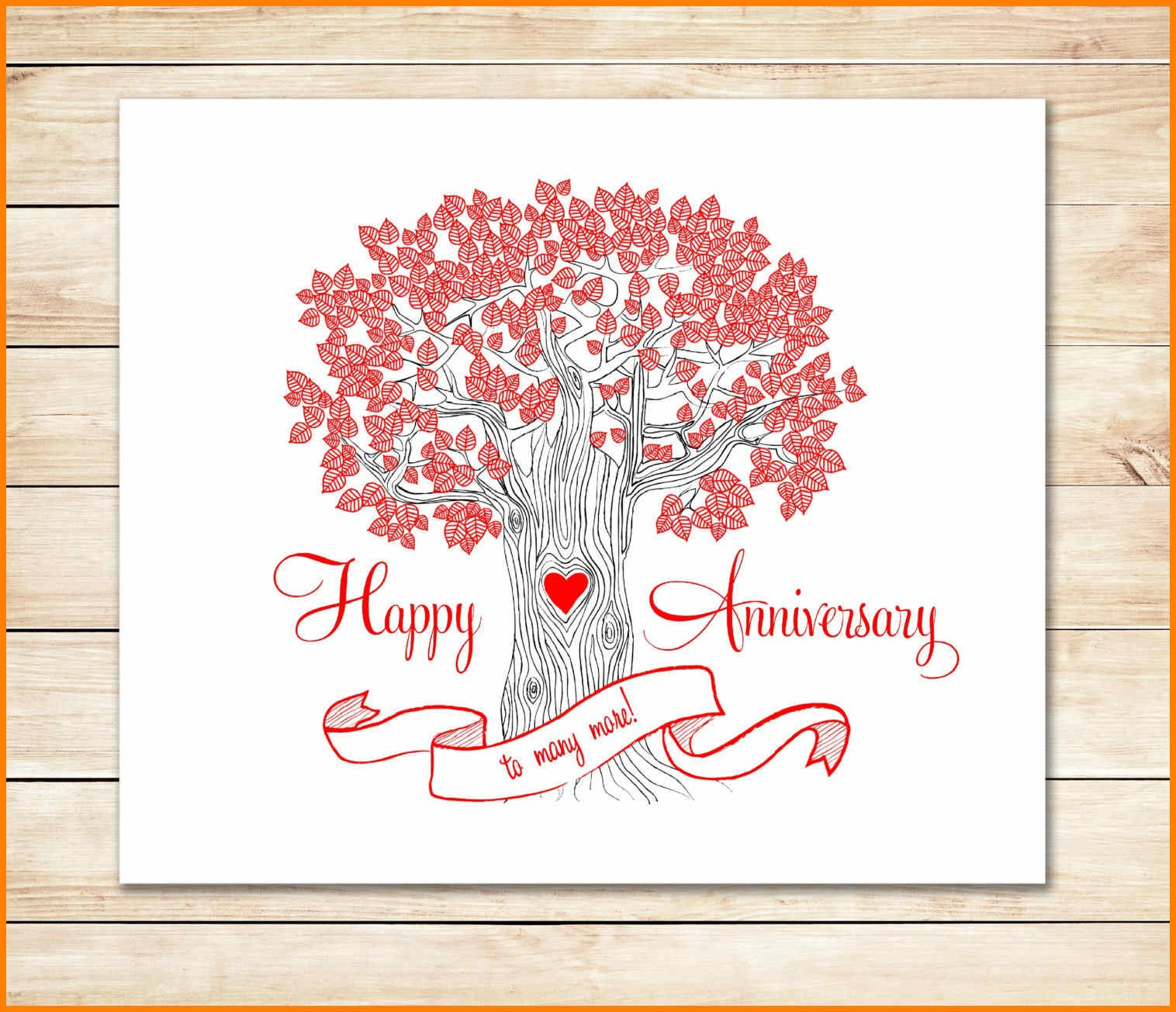 Happy Anniversary Templates Free  Plasticmouldings Regarding Template For Anniversary Card