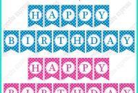 Happy Birthday Template Printable  Papakcmic throughout Free Printable Happy Birthday Banner Templates