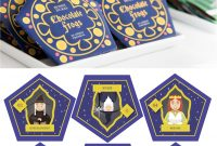 Harry Potter Chocolate Frogs  Free Printable Template For Diy pertaining to Chocolate Frog Card Template