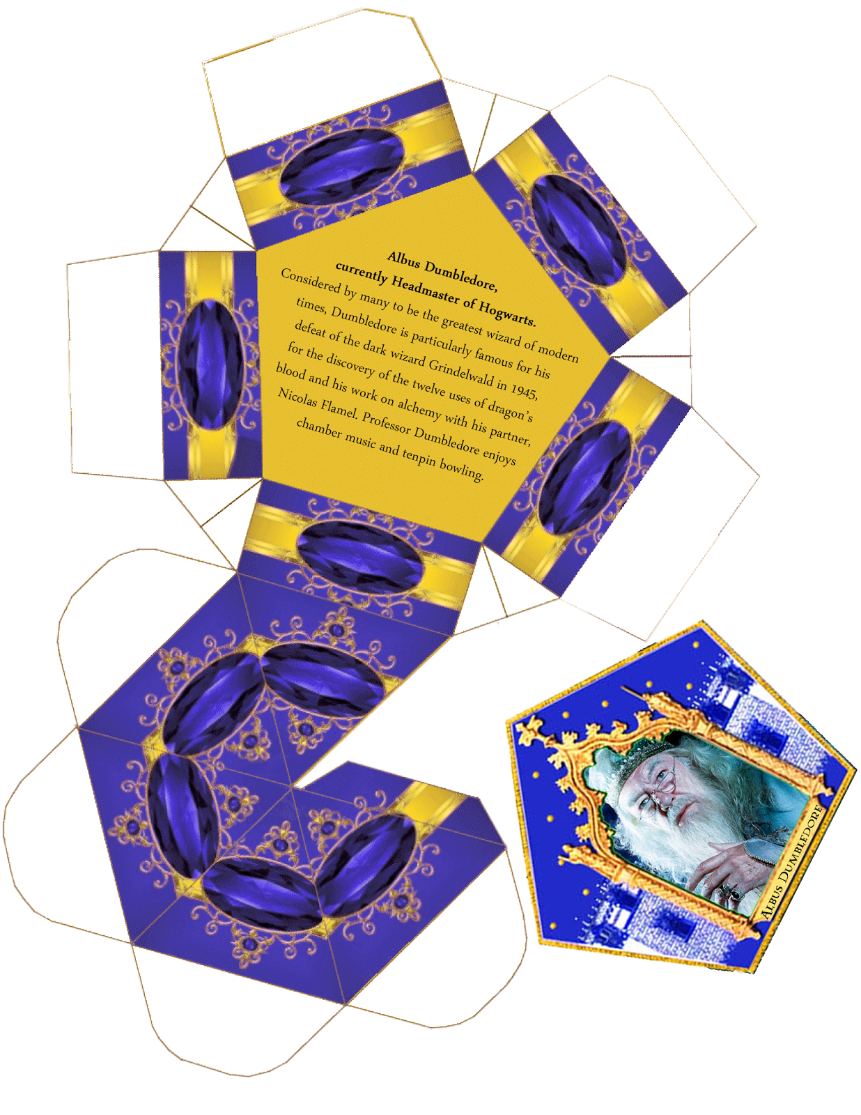 Harry Potter Paraphernalia Chocolate Frogs Box Template With Chocolate Frog Card Template