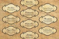 Harry Potter Potions Labels Clipart  Crafting  Coole Ideen in Harry Potter Potion Labels Templates