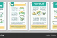 Healthy Nutrition Brochure Template Layout Dieting Program Flyer within Nutrition Brochure Template