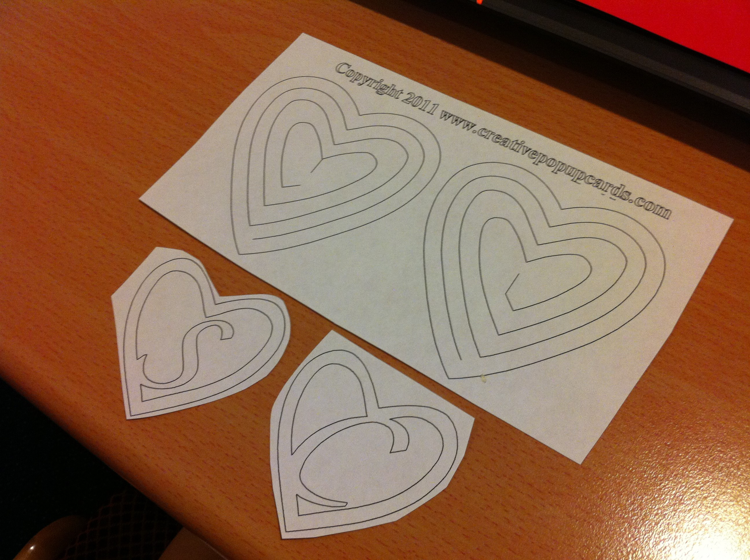 Hearts  A Student's Life With Regard To Heart Pop Up Card Template Free
