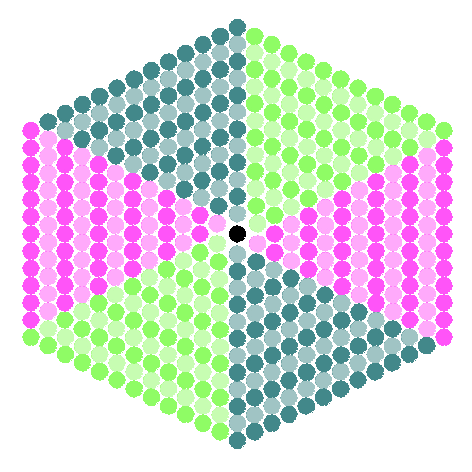 Hexagon Patterns With R  Data Chips With Regard To Blank Perler Bead Template