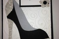 High Heel Shoe Card  Birthday Tanya Bell's High Heel Shoe Template in High Heel Shoe Template For Card