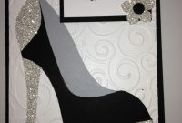 High Heel Shoe Card  Birthday Tanya Bell's High Heel Shoe Template with regard to High Heel Template For Cards