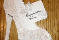 High Heel Shoe Card  Bridal Shower Tanya Bell's High Heel Shoe pertaining to High Heel Shoe Template For Card