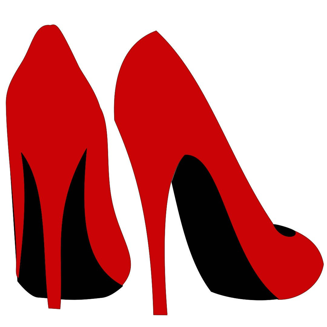 High Heel Shoe Template  Etsy Throughout High Heel Shoe Template For Card