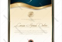 High Res Certificates  Certificate Templates with regard to High Resolution Certificate Template