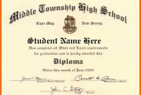 High School Diploma Certificate Template  Pear Tree Digital intended for Ged Certificate Template