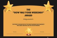 Hilarious Office Awards To Embarrass Your Colleagues  Socialtalent in Funny Certificates For Employees Templates
