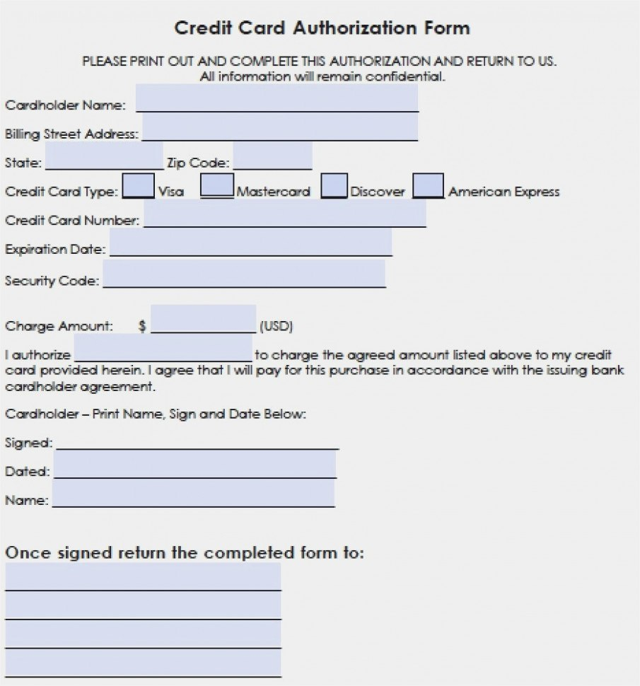 Hilton Credit Card  Realty Executives Mi  Invoice And Resume In Credit Card Payment Form Template Pdf