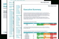 Hipaa Configuration Audit Summary  Sc Report Template  Tenable® in Security Audit Report Template