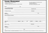 Hire Purchase Agreement Template Free Elegant  Simple Commercial intended for Hire Purchase Agreement Template