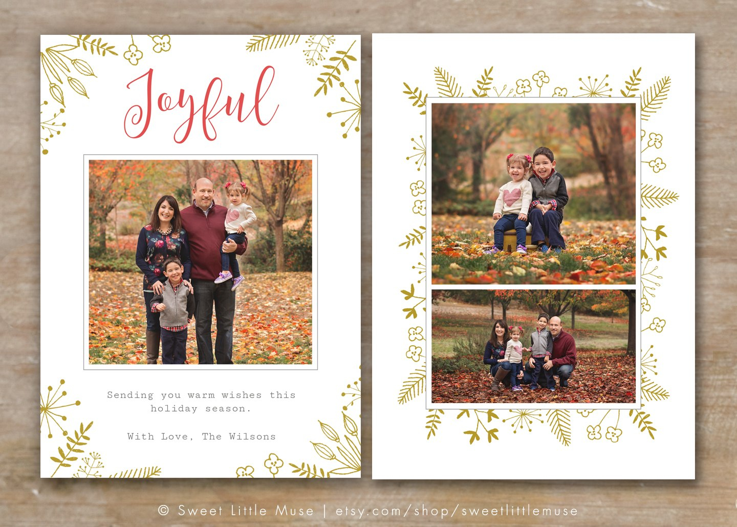 Holiday Card Templates For Photographers To Use This Year In Free Christmas Card Templates For Photographers