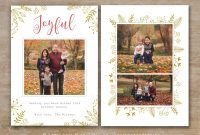 Holiday Card Templates For Photographers To Use This Year regarding Christmas Photo Card Templates Photoshop
