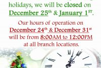 Holiday Closed Sign Template  Template Modern Design for Business Closed Sign Template