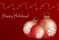 Holiday Greeting Card Template Images  Free Christmas Card for Happy Holidays Card Template