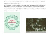 Holiday Marketing Kit From Hubspot And Venngage throughout Holiday Card Email Template