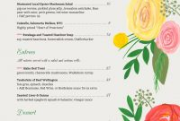 Holiday Menu Templates From Imenupro  More Than Just Templates for Christmas Day Menu Template