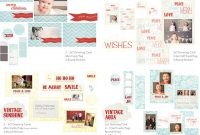 Holiday Photo Card Templates  Whimsy And Good Cheer Collection with regard to Free Photoshop Christmas Card Templates For Photographers