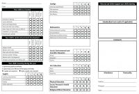 Homeschool Report Card Template Free – Verypageco inside Homeschool Report Card Template