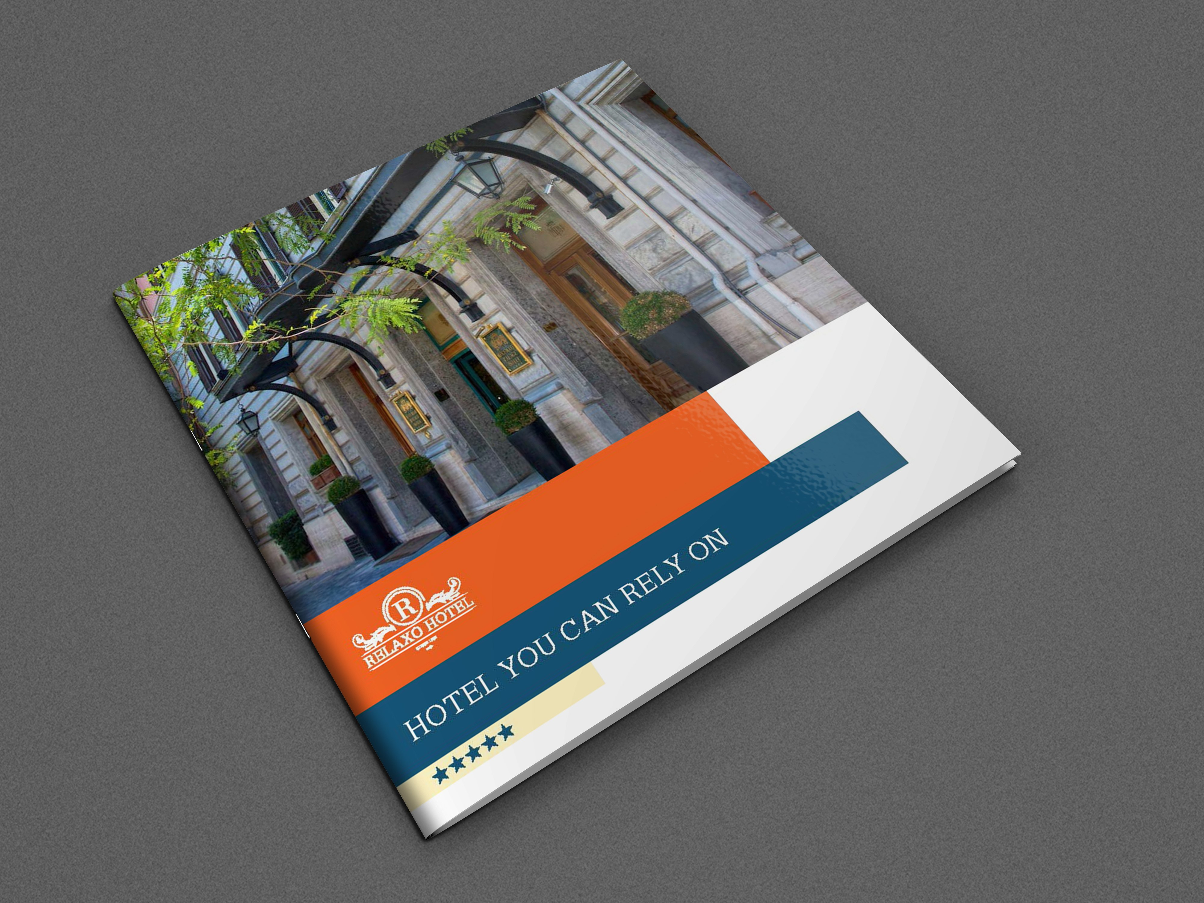Hotel And Motel Bifold Brochure Templateowpictures On Dribbble Pertaining To Hotel Brochure Design Templates