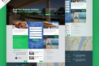 Hotel And Resort Booking Website Template Free Psd  Psdfreebies in Business Website Templates Psd Free Download