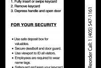 Hotel Key Card Printing  Hotel Keys  Custom Hotel Key Cards in Hotel Key Card Template