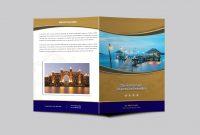 Hotel Resort Bi Fold Brochure Design Templatearun Kumar On Dribbble for Hotel Brochure Design Templates