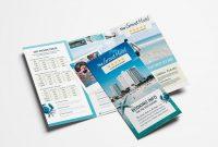 Hotel Trifold Brochure Template  Psd Ai  Vector  Brandpacks for Hotel Brochure Design Templates