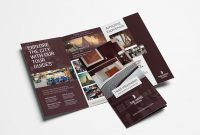 Hotel Trifold Brochure Template V  Psd Ai  Vector  Brandpacks with Hotel Brochure Design Templates