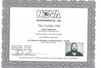 How Long Is Osha  Certification Good For  Somord in Osha 10 Card Template