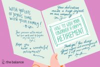 How To Best Wish Your Coworker A Happy Retirement with Retirement Card Template