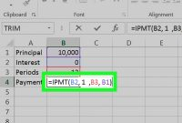 How To Calculate An Interest Payment Using Microsoft Excel regarding Credit Card Interest Calculator Excel Template