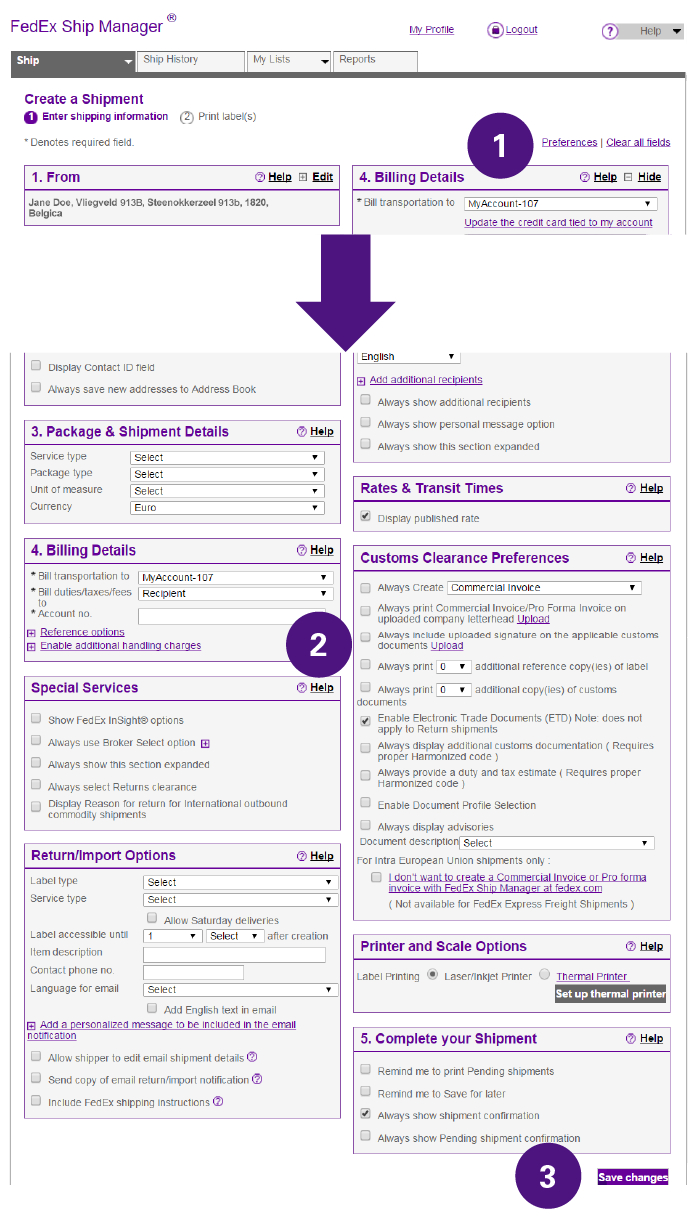 How To Complete International Shipping Documentation – Fedex  Germany Inside Fedex Proforma Invoice Template