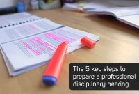 How To Conduct A Disciplinary Hearing A Stepstep Guide throughout Investigation Report Template Disciplinary Hearing