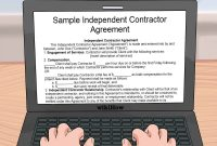 How To Create A Freelancing Contract With Free Sample Agreement within Freelance Consulting Agreement Template
