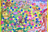 How To Create A Lifesize Candy Land Game  Summer Camp Programming for Blank Candyland Template