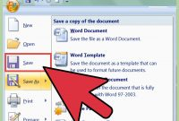 How To Create A Newsletter With Ms Word   Steps throughout How To Save A Template In Word
