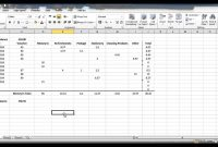 How To Create A Petty Cash Template Using Excel  Part   Youtube for Petty Cash Expense Report Template