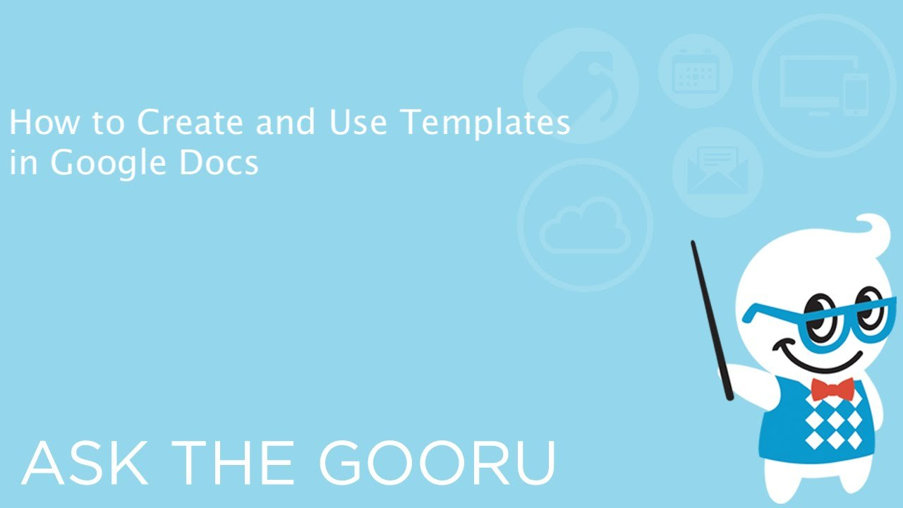 How To Create And Use Templates In Google Docs  Youtube Pertaining To Google Docs Label Template