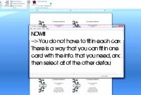 How To Create Business Cards On Microsoft Word in Business Card Template For Word 2007